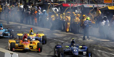 The 100th running of the Indianapolis 500 takes place tomorrow.