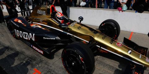 James Hinchcliffe will be the last driver to make a final qualifying attempt on Sunday at Indianapolis Motor Speedway.