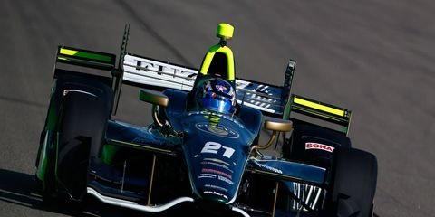 Josef Newgarden, who has moved up to second in the Verizon IndyCar Series points race, won last year at Toronto.