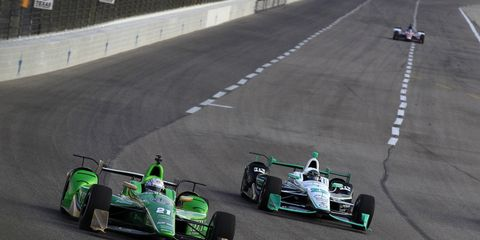Simon Pagenaud leads the IndyCar standings, but Josef Newgarden, in second place, is making a charge.