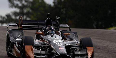 Josef Newgarden won the 2015 IndyCar race at Barber Motorsports Park.