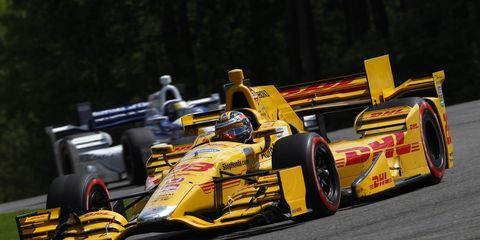 The IndyCar Series kicks off its May schedule at the Indianapolis Motor Speedway on Sunday.