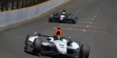Kurt Busch driving in the Indy 500 was one of several key moments in racing in the first half of 2014.