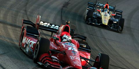 Graham Rahal thinks he can catch Juan Pablo Montoya, but he'd like a little more help from his engine manufacturer, Honda.