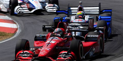 Graham Rahal won his second race of the season on Sunday at the Mid-Ohio Sports Car Course in Lexington, Ohio.