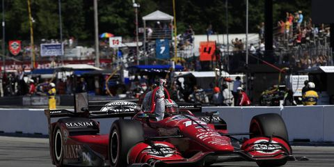 Despite two wins from Graham Rahal this season, Honda is petitioning IndyCar to allow it to change its aero kit.