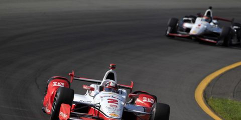 Juan Pablo Montoya goes into the final race of the season with the championship lead, but several drivers still have a chance to win.