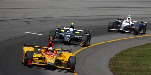 IndyCar driver Ryan Hunter-Reay will race in the upcoming Race of Champions in Miami.