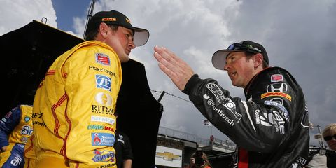 Indy 500 winner Ryan Hunter-Reay and NASCAR Sprint Cup driver Kurt Busch will represent the United States at the Race of Champions.