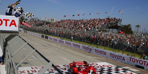 Scott Dixon won the IndyCar race in Long Beach last year. The annual California race is this weekend.