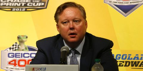 """On Friday in Miami, NASCAR chairman Brian France gave a """"state of the sport"""" speech."""