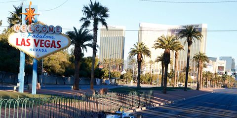 Formula E, which made a promotional stop (above) in 2014, and Formula One, are looking at the streets of Las Vegas as a future venue.