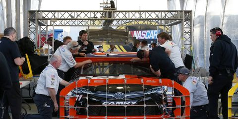 NASCAR released its first rules update of the season on Friday night.