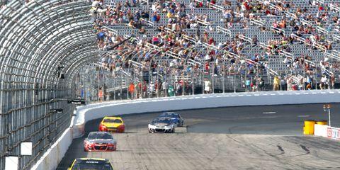 Matt Kenseth won Sunday's NASCAR Sprint Cup race at New Hampshire.