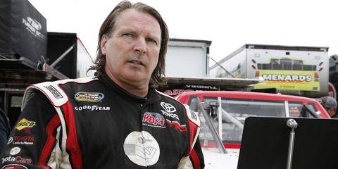 Scott Bloomquist during his 2013 NASCAR Camping World Truck Series appearance at Eldora Speedway.