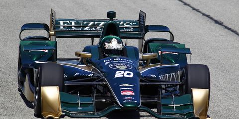 Ed Carpenter, who is part owner of Carpenter Fisher Hartman Racing, hopes the team is able to retain Josef Newgarden, who is a free agent at the end of the season.