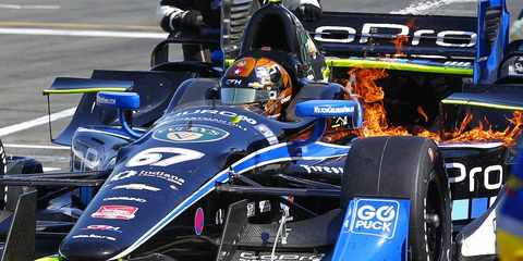 Josef Newgarden confirmed he is staying with CFH Racing for 2016.