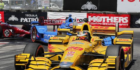 Ryan Hunter-Reay recently voiced his displeasure about a penalty he received during the race at NOLA.
