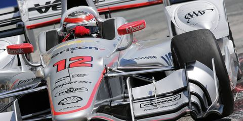 Will Power won Sunday's IndyCar race in Toronto.