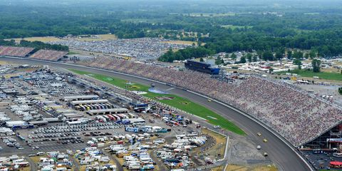 Michigan International Speedway announces changes to increase track safety.