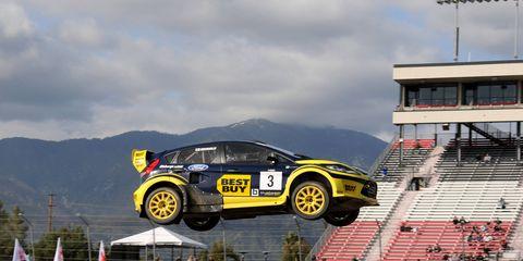 Global Rallycross will race at three American short tracks this season.