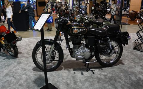 There are three Royal Enfield models for sale in the U.S.