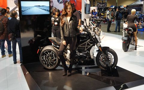 Here's another shot of the XDiavel.