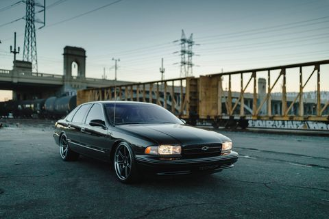 Killer Mike's goal for his Impala SS build was to enhance the car's already-sinister looks while preserving its originality.