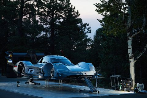 Romain Dumas will attempt to break the electric vehicle record at the Pikes Peak International Hill Climb in a Volkswagen I.D. R.