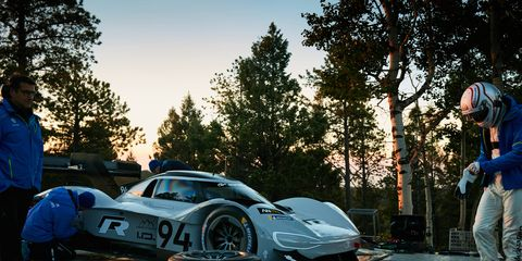 The Pikes Peak Hill Climb consists of 156 corners and almost 8000 feet of elevation change on the way to the 14,115-foot summit.