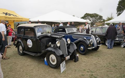 Legends Of The Autobahn is an all-German marque Concours d'Elegance held at the prestigious Nicklaus Club-Monterey during Monterey, California's famed Pebble Beach Concours week.