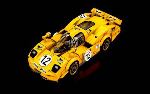 Lego Ideas builder Alan Guerzoni recreated the Ferrari 512S Coda Lunga as car #12 from the 1970 season.