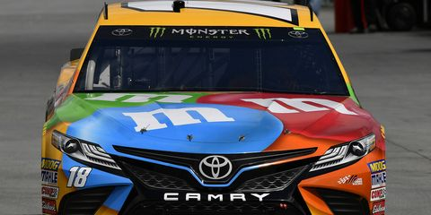 While he is winless this season, Kyle Busch is the defending winner at Martinsville.