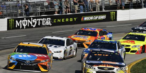 NASCAR's new stage-based race format has added intensity to every race this season.