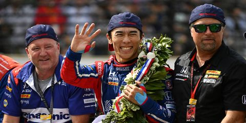 Indianapolis 500 winner Takuma Sato woke up considerably wealthier on Tuesday morning.