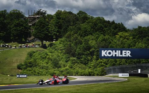 Sights from the IndyCar action at Road America, Saturday, June 24, 2017