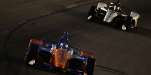 Scott Dixon now moves into sole possession of third place on the all-time Indy car victory list.