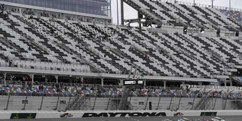 Sights from the action during the IMSA Continental Tire SportsCar Challenge Race at Daytona International Speedway Friday Jan. 26 2018.