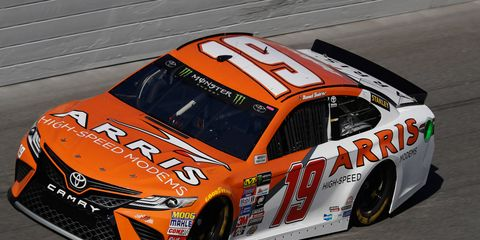 Rookie Daniel Suarez is in a Toyota capable of winning the Monster Energy NASCAR Cup championship.