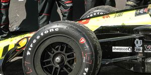 Firestone has had a monopoly on the IndyCar field since 1999.