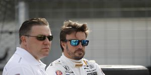 Both McLaren's Zak Brown and Fernando Alonso want to return to the Indy 500 but 2018 seems unlikely for either candidate.