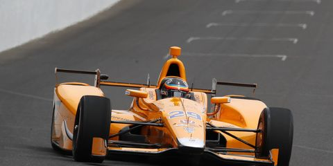 F1 driver Fernando Alonso was cleared to compete in the Indianapolis 500 after completing his rookie orientation program.