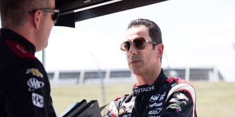 Hélio Castroneves' future with Team Penkse could include a full-time sports car seat.