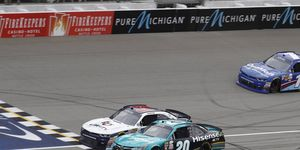 Saturday's margin of victory was the closest Xfinity Series finish at Michigan since the advent of electronic timing and scoring more than two decades ago.
