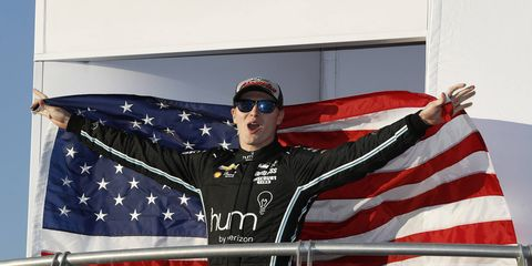 Josef Newgarden says he wants to carry the banner for the United States in the Verizon IndyCar Series.