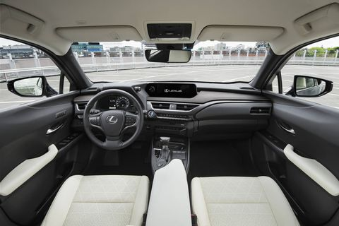 The 2019 Lexus UX's interior and a look at the small crossover in detail