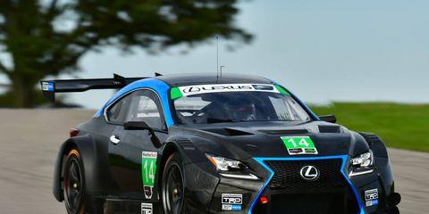 3GT Racing's Lexus RCF GTD tours Gingerman Raceway in Southwest Michigan in Friday.