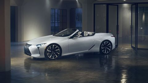 The Lexus LC convertible concept is headed to Detroit, and then likely production.