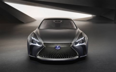 Lexus introduced its fuel-cell LF-FC concept at the 2015 Tokyo motor show.