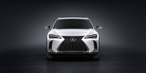 The 2019 Lexus UX will come in standard, hybrid and F Sport versions, all with some form of four-cylinder engine.